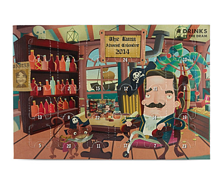 Advent calendar, christmas, selfridges, rum, luxury, 2014, festive, gift, inspiration